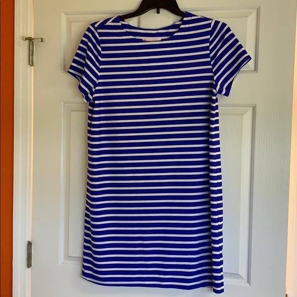 Jude Connally Dresses & Skirts - Jude Connally Royal Striped Dress